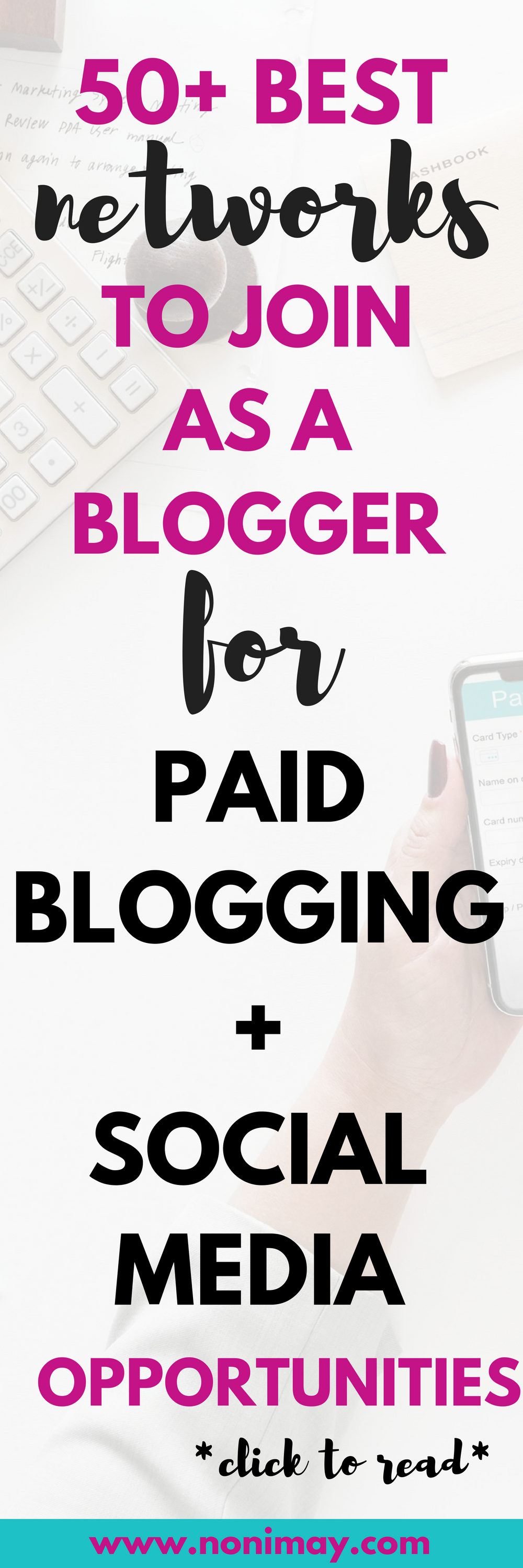 50+ best networks to join as a blogger for paid blogging and social media opportunities