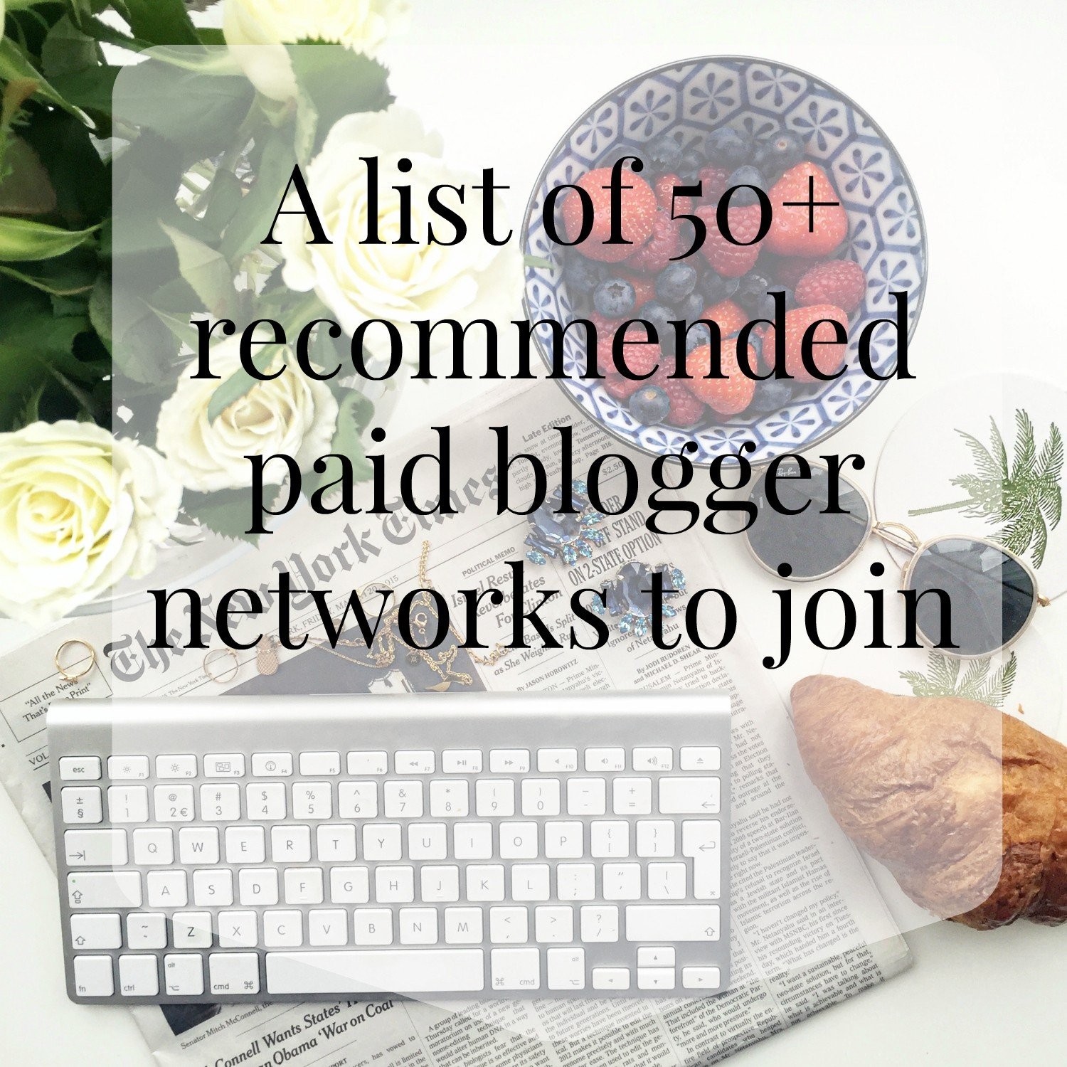 50+ paid blogger networks to join and make money online make money blogging