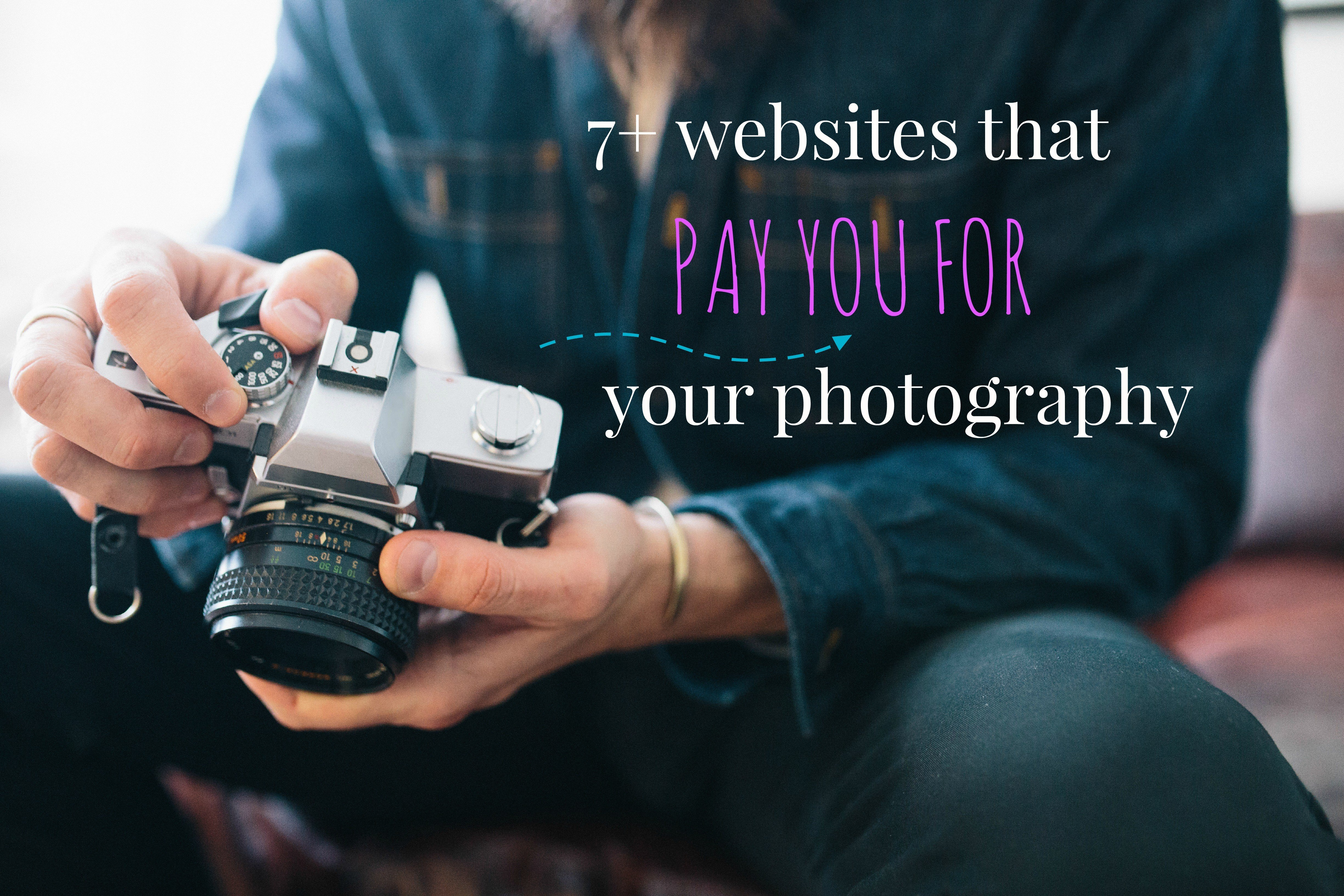 how to get paid for photography