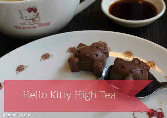 Hello Kitty High Tea The Hague Netherlands