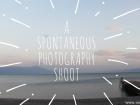 A spontaneous photography shoot