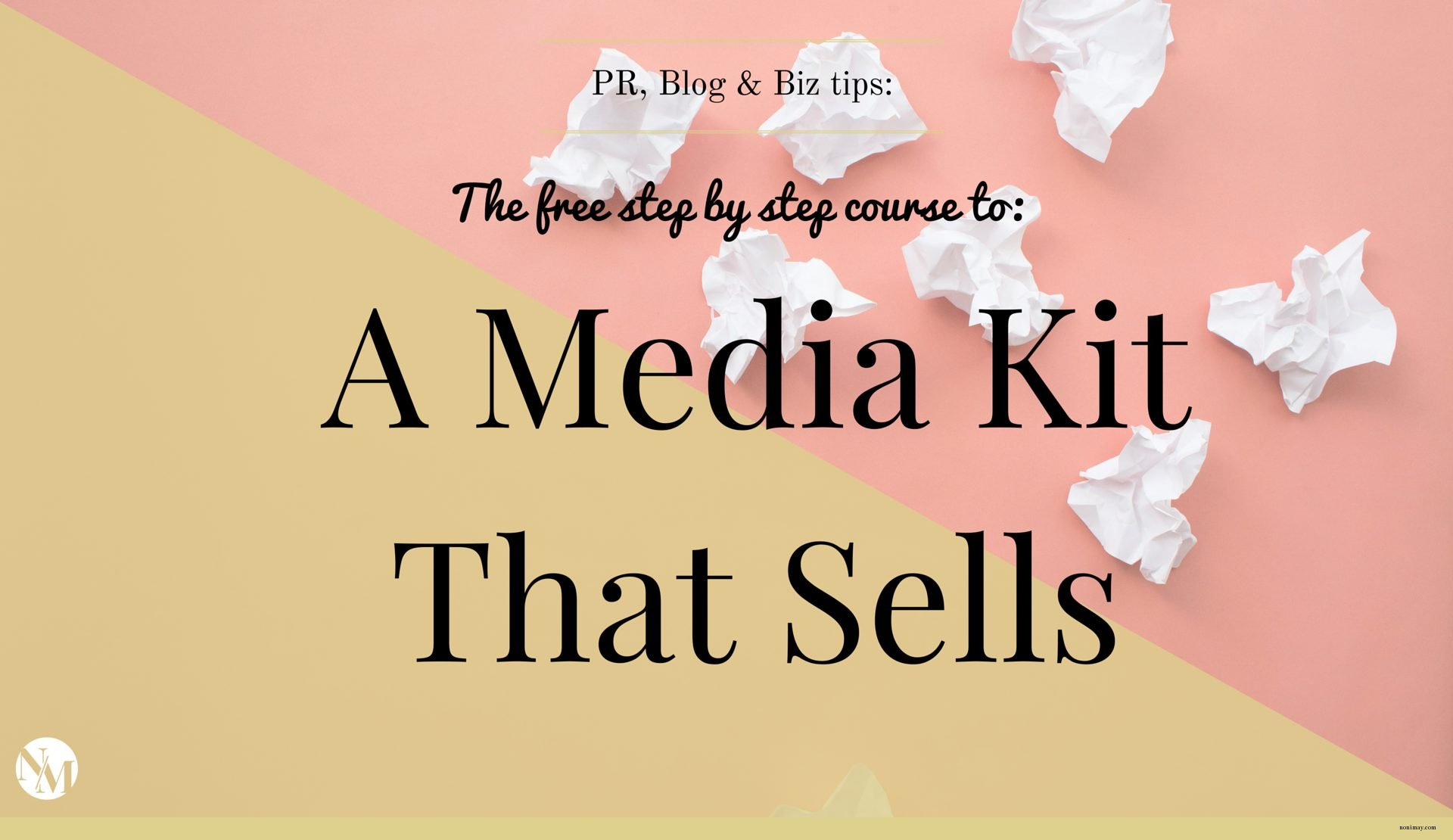 More press attention. More sales that take less time. More followers. More fun + freedom. (1)