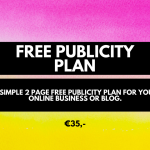 Free publicity. Micro investment, cheap services for bloggers and business owners. (1)