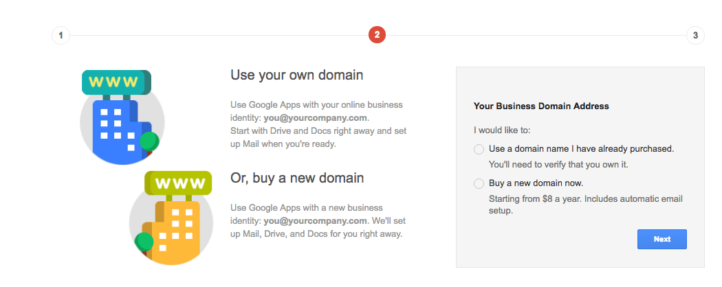 How to use your own domain name with Gmail (with Google Apps and for free)