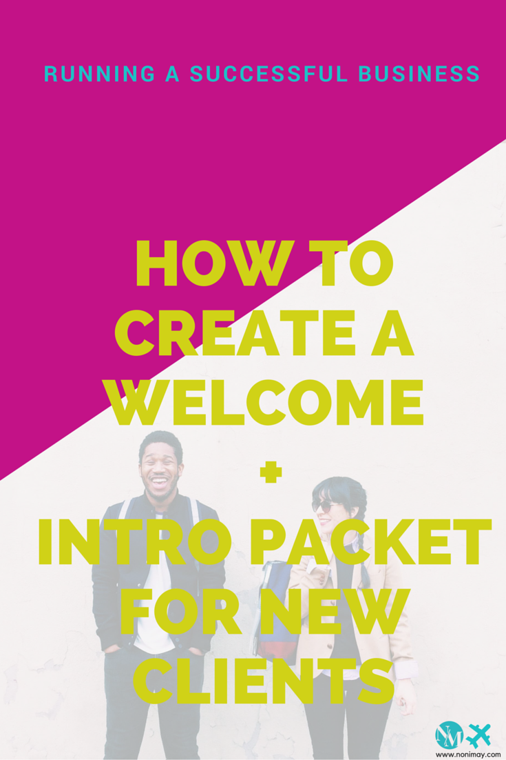 How to create a pre-onboard + onboard packet for new clients