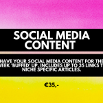 Social media content. Micro investment, cheap services for bloggers and business owners. (1)