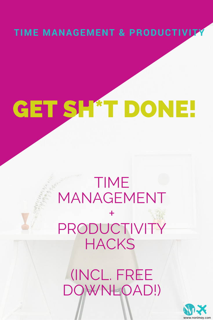 work smarter not harder. You don't need to work 16 hours a day to get everything done. Time management + productivity musts (incl. free download!) (1)