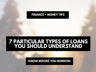 7 particular types of loans you should understand