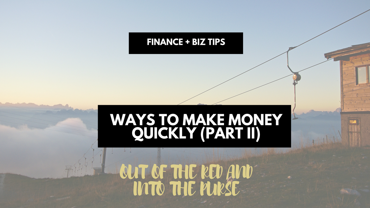 ways-to-make-money-quickly