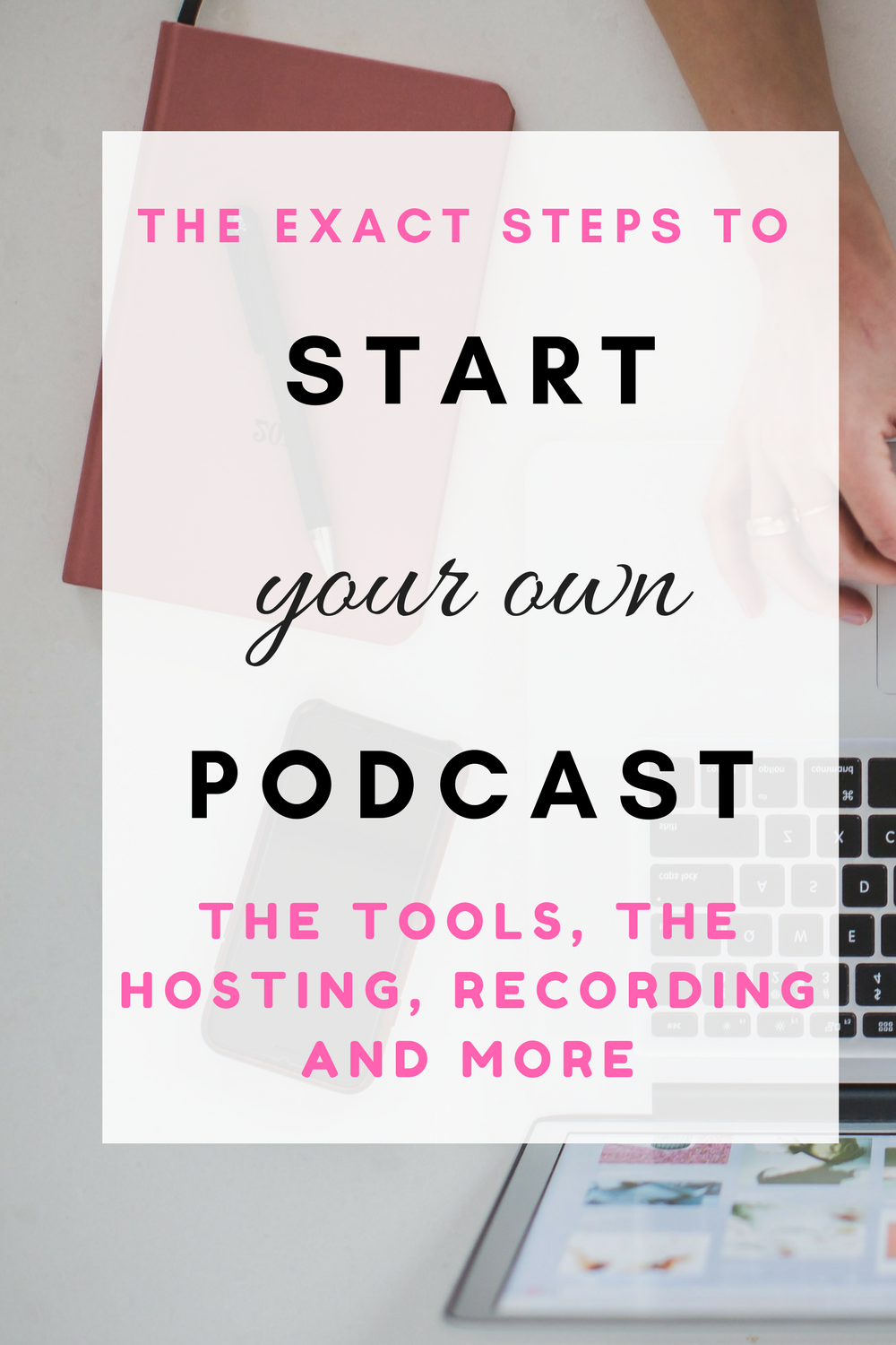 the exact steps to start your own successful podcast