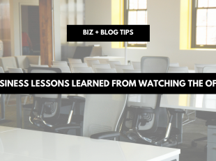 Business lessons learned from watching The Office