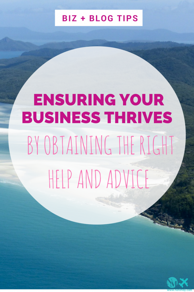 Ensuring your business thrives by obtaining the right help and advice