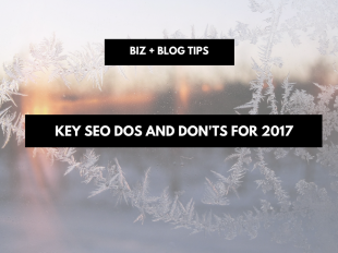 Key SEO dos and don'ts for 2017