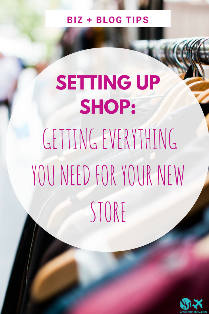 Setting up shop: getting everything you need for your new store