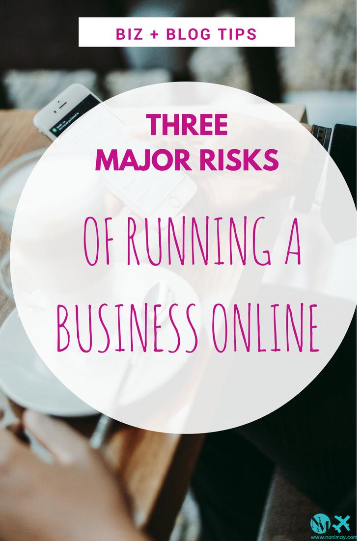 Three major risks of running a business online