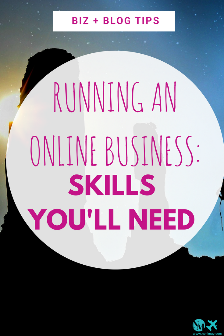 Running an online business: skills you'll need