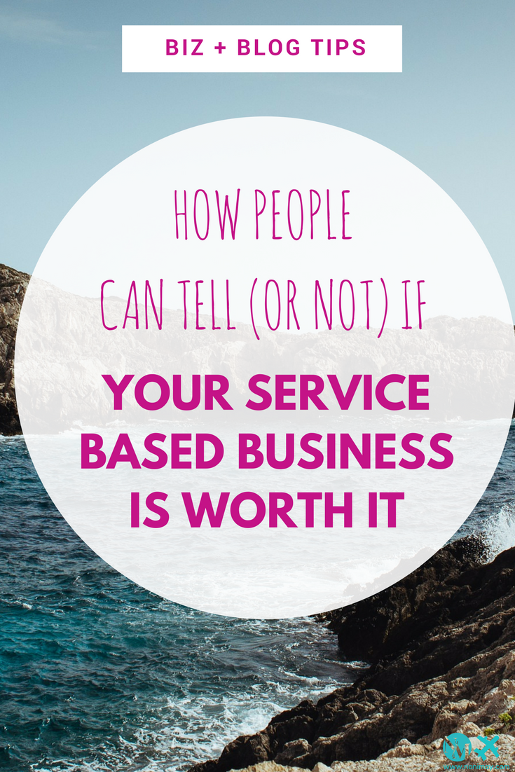 What sets apart a good service business from the bad ones-
