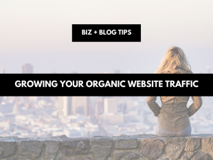 Growing your organic website traffic
