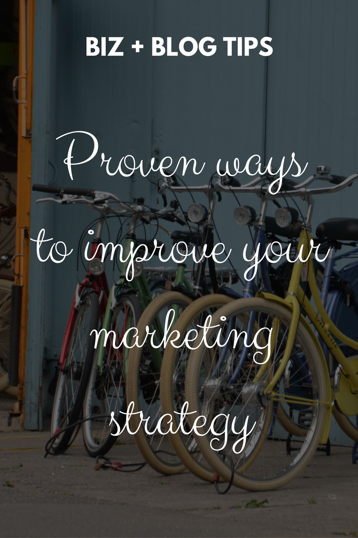 Proven ways to improve your marketing strategy now