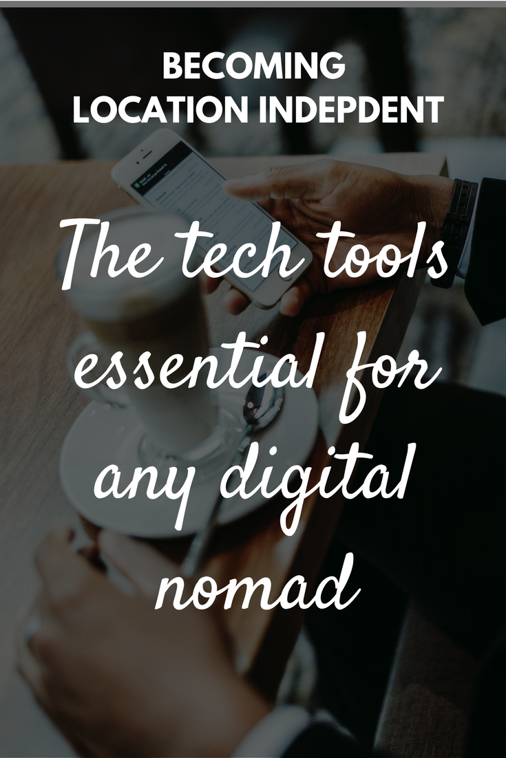 The tech tools essential for any digital nomad