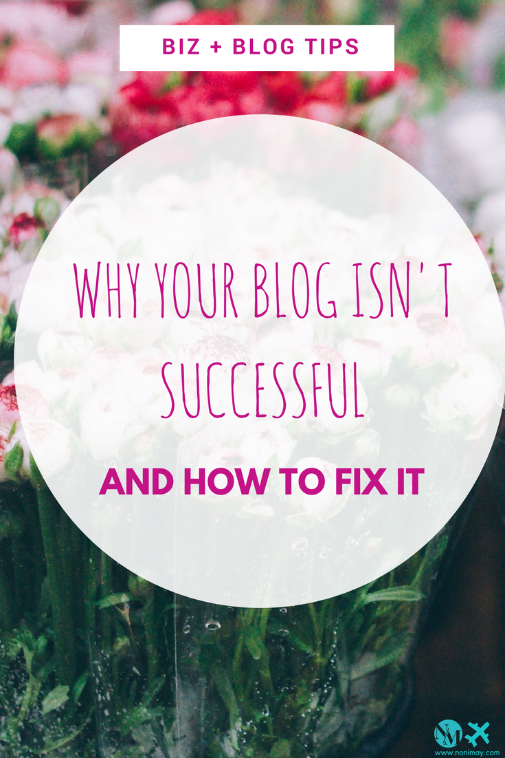 Why your blog isn't successful