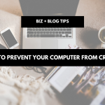 How to prevent your computer from crashing | tech tips
