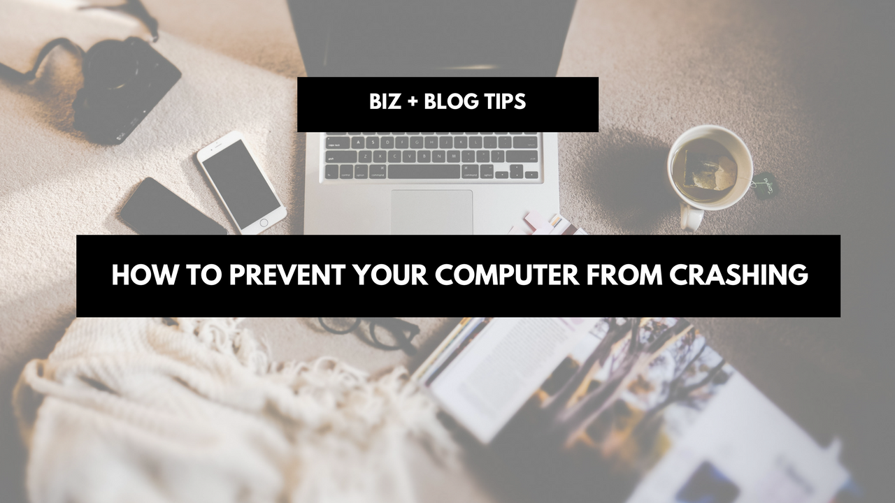 How to prevent your computer from crashing