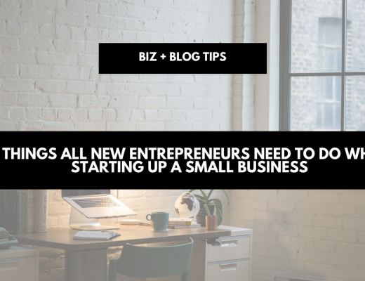 6 things all new entrepreneurs need to do when starting up a small business