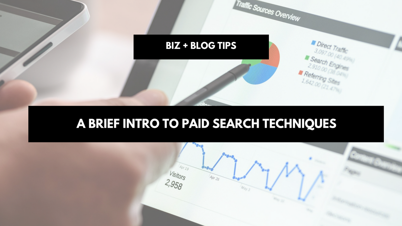 A brief intro to paid search techniques