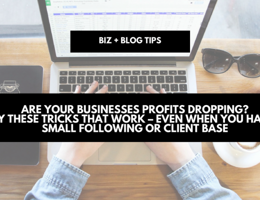 Are your businesses profits dropping? Try these tricks that works even when you have a small following or client base