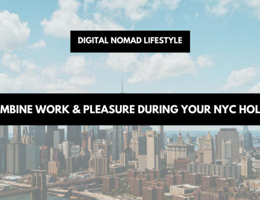 Combine work & pleasure during your NYC holiday