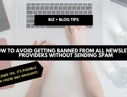 How to avoid getting banned from all newsletter providers without sending spam