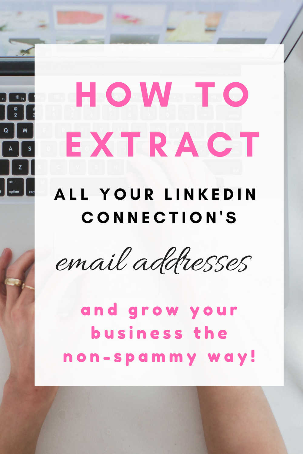 's email addresses and grow your business the non spammy way