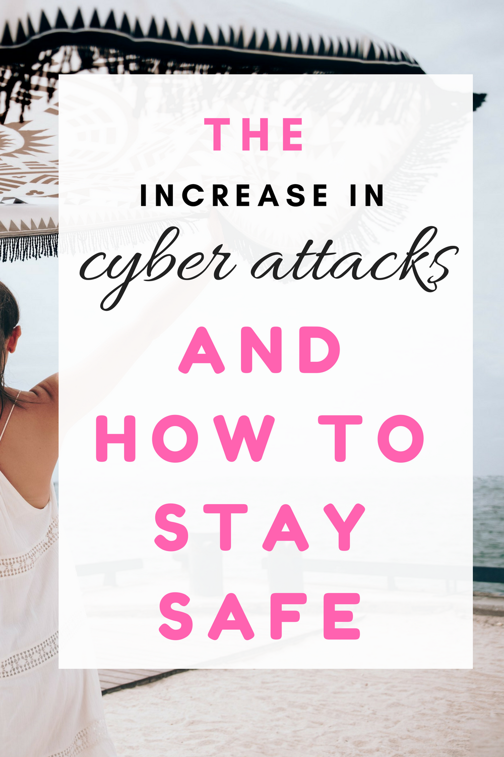 The increase in cyber attacks and how to stay safe