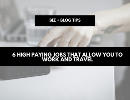 6 High paying jobs that allow you to work and travel