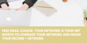 free course your network is your net worth