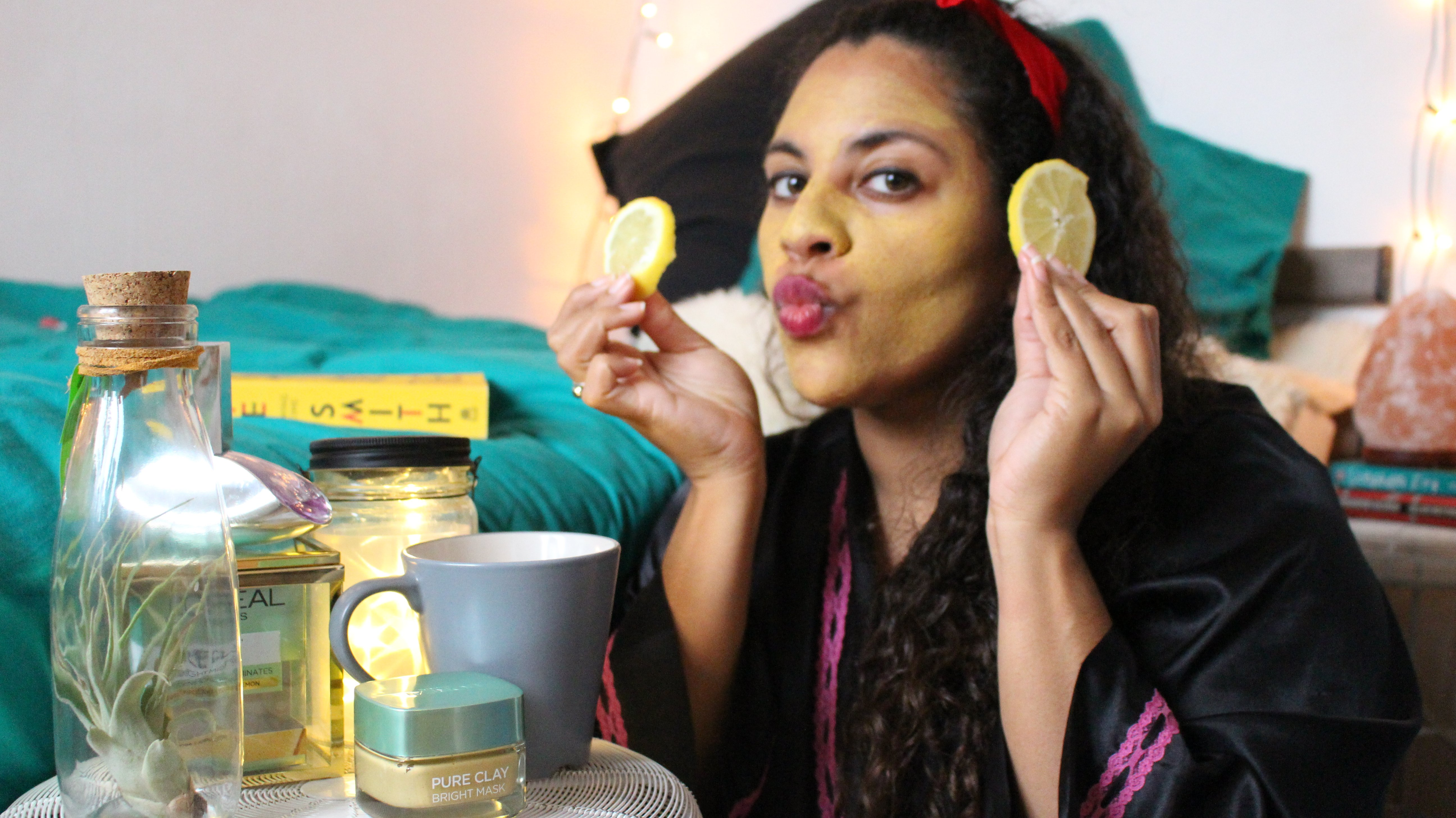 L'oreal clay mask noni may review travel lifestyle review sponsor blogger