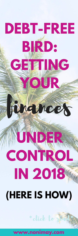 Debt- free bird: getting your finances under control in 2018