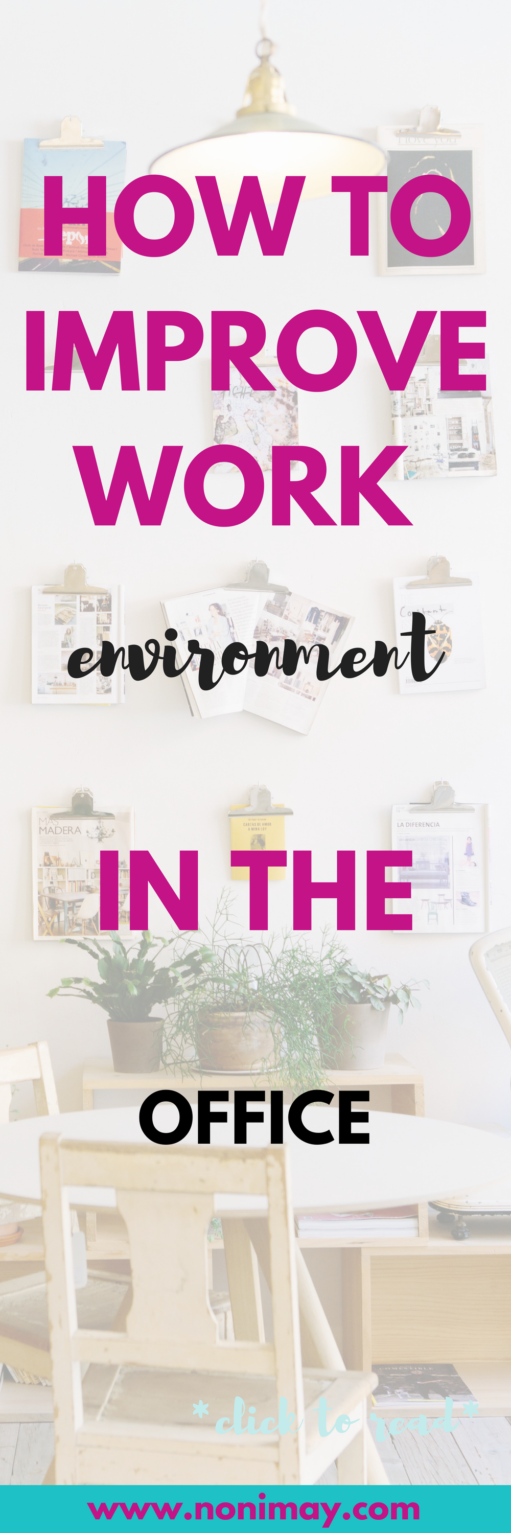 how to improve work environment in the office