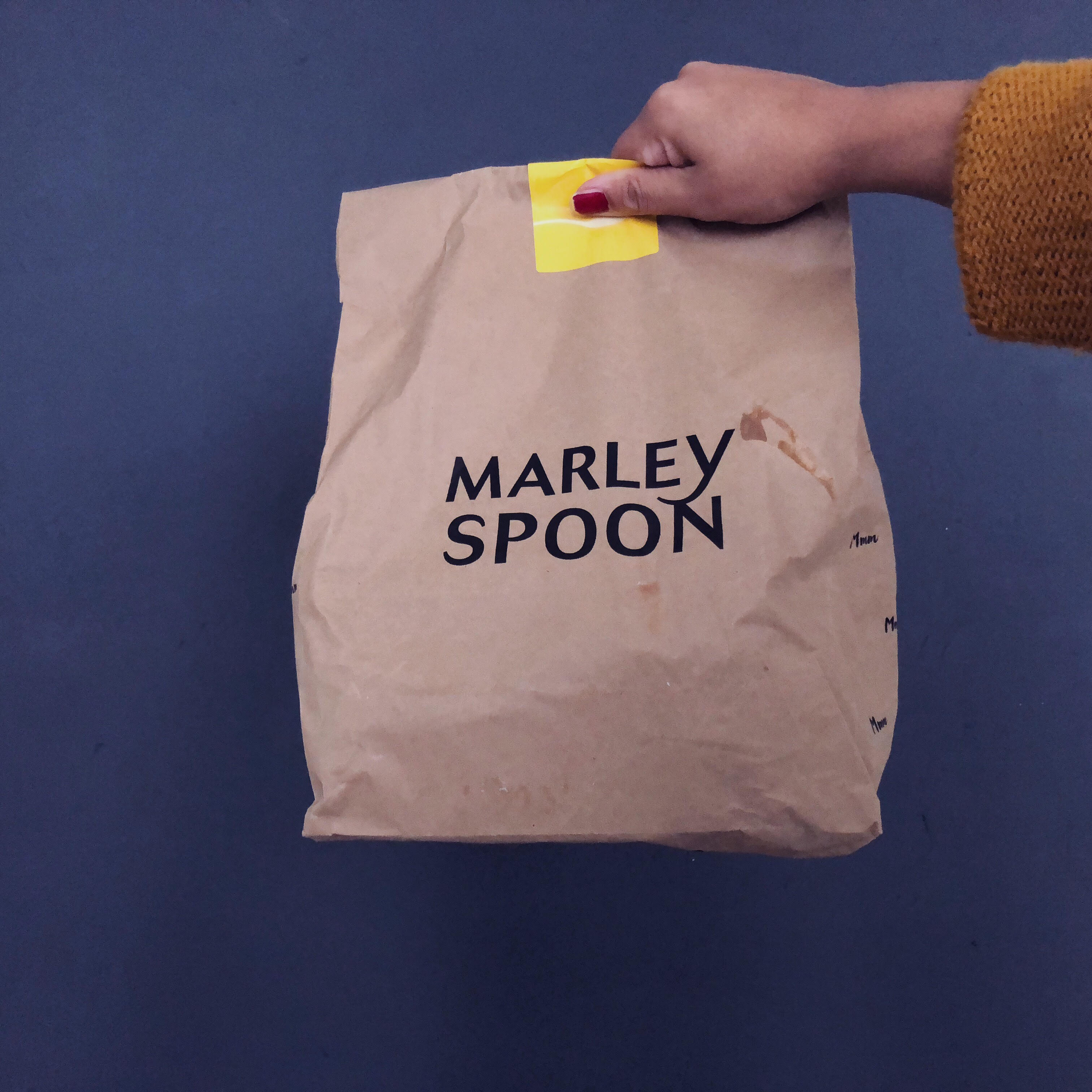 Marley Spoon by Marta Steward food delivery service and food box subscription. Get a discount and $25 off your first order.