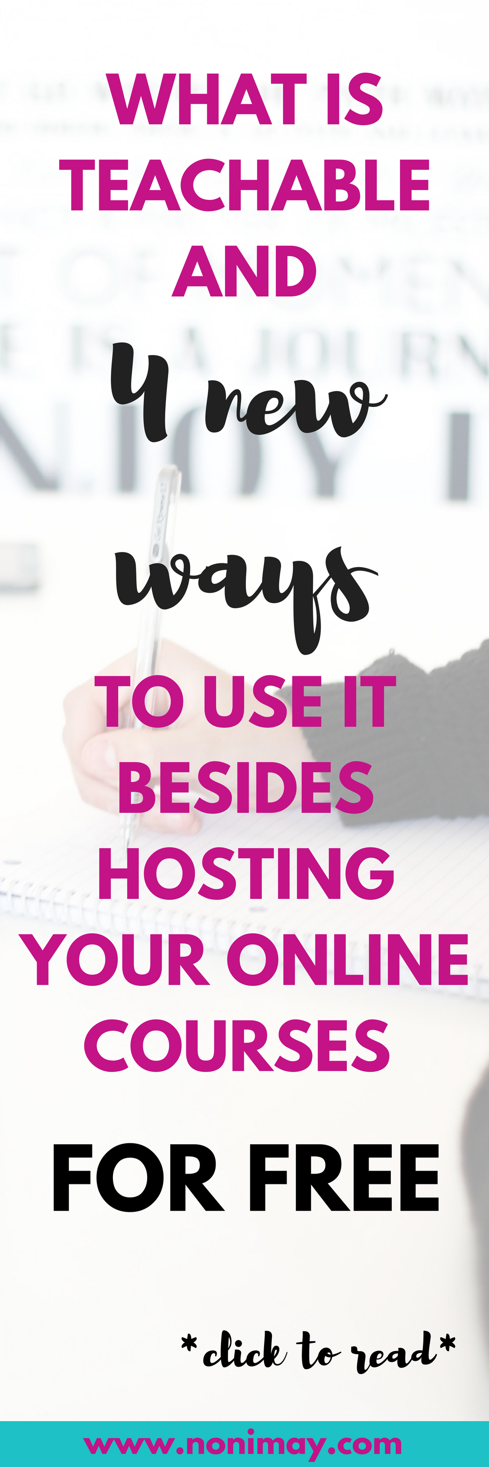 What is Teachable and 4 new ways to use it besides hosting your online courses for free