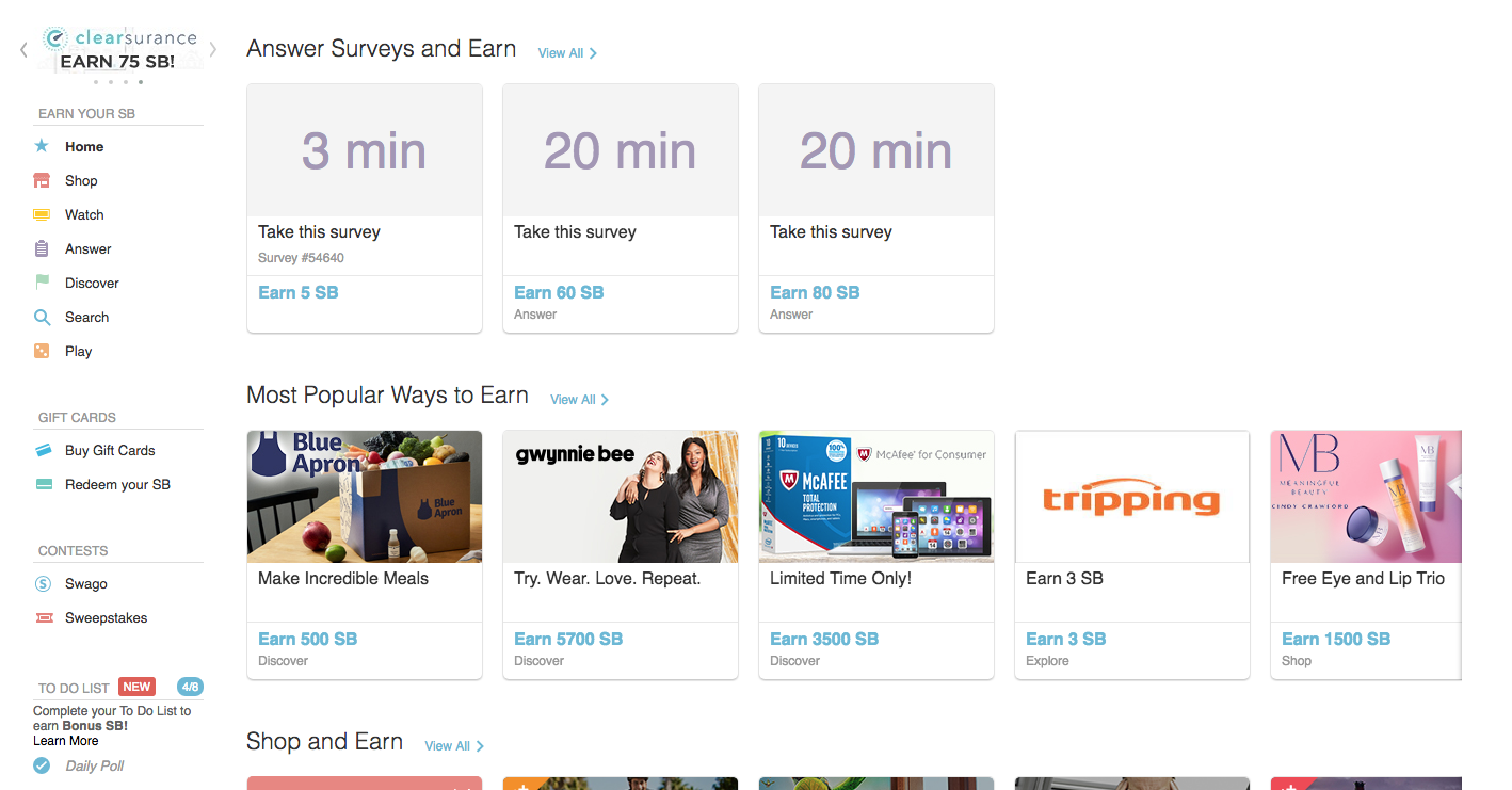 Swagbucks tutorial. This site pays you $2737 a year just to watch videos (I tried it and it works!)