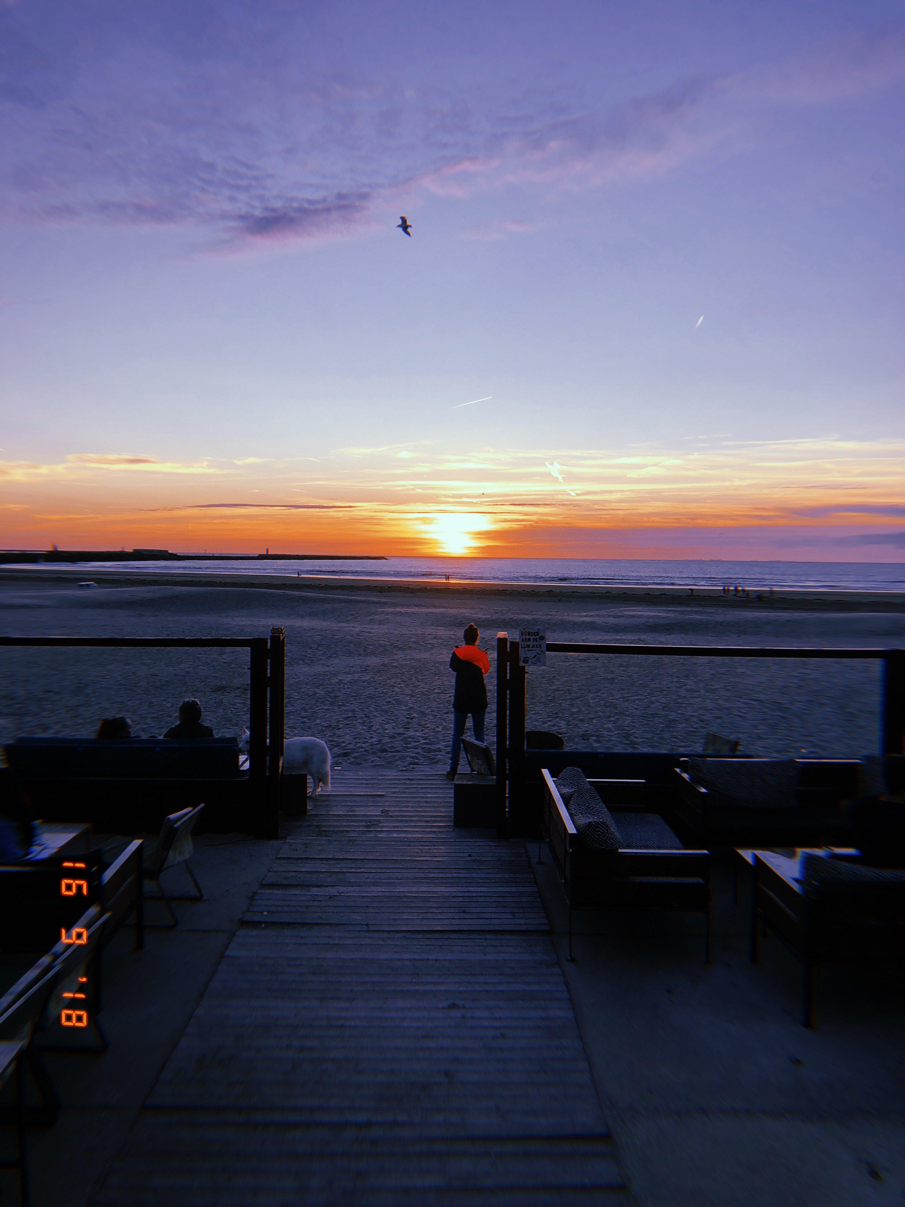 Beach Sunset At Ijmuiden Strand A Day In The Dutch Dunes Aloha Beach