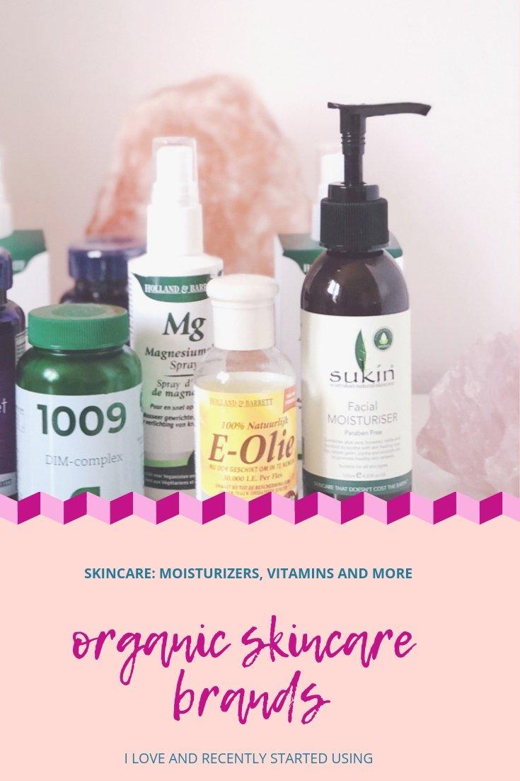 Skincare moisturizer vitamins and more the best organic skincare brands i love